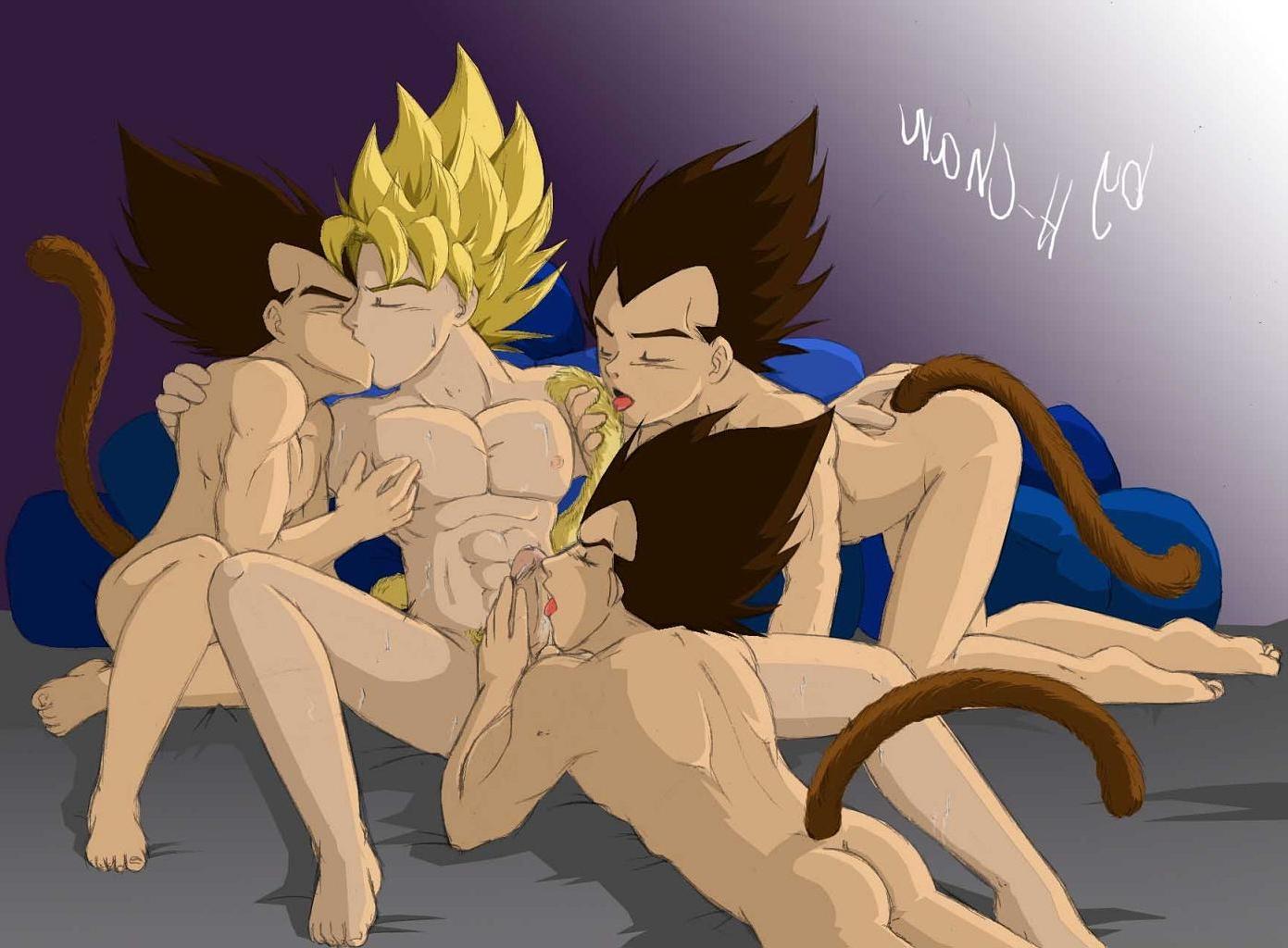 Finest Goku Vegeta Naked Pics