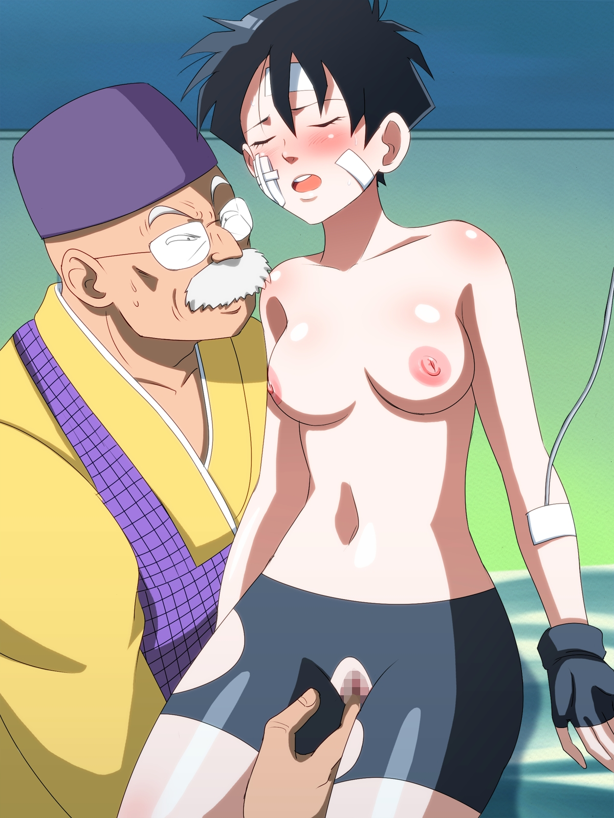 young bulma and young chichi nude
