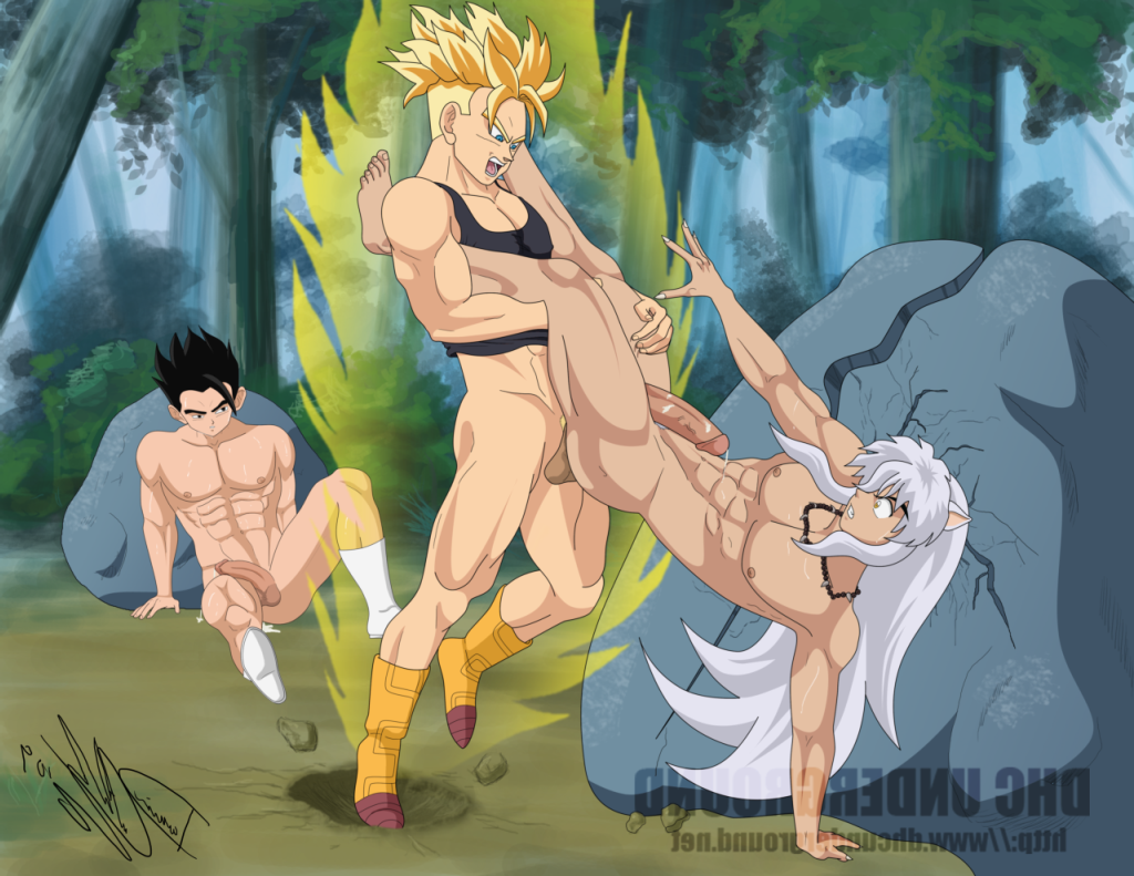 Pity, that Dragon ball nude yaoi have